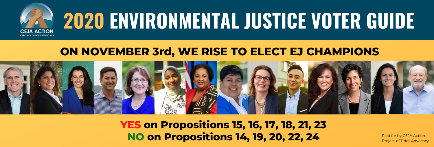 2020 Environmental Justice Voter Guide